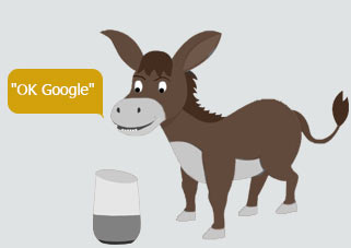 In 2050 Google Home will be able to also understand and communicate with pet donkeys :)