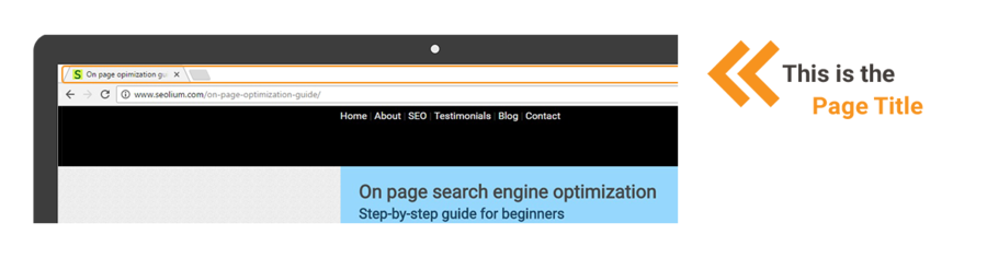 Optimize your page title according to the SEO rules.